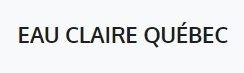 Eau Claire Québec
