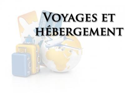 Voyages et hébergement