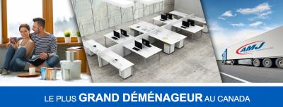 AMJ Montreal - Déménagement Résidentiel et commercial